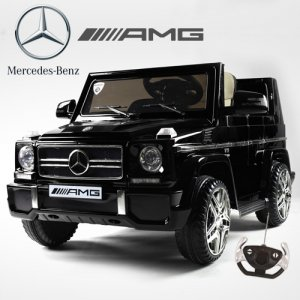 Licensed Black Mercedes AMG G65 G-Wagon Luxury 12v Jeep