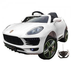 Porsche Macan Style White Electric 12v 4x4 Ride On