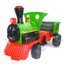 Traditional Ride on British Steam Engine 12v Kids Train