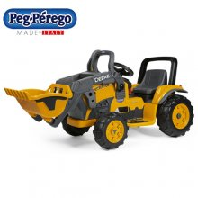 John Deere Kids 12v Premium Digger with Scoop