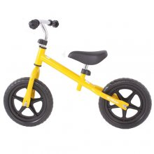 Yellow BMX Balance Bike For Kids