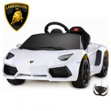 6v Lamborghini Aventador Kids Licensed Sports Car with Remote