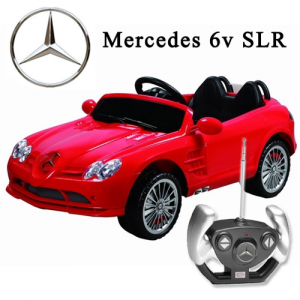 Licensed Mercedes SLR 6v Kids Ride On Car with Remote