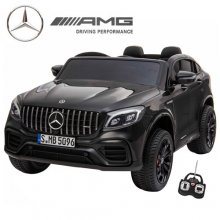 Official Two Seat 4WD GLC Mercedes Black 24v Kids SUV