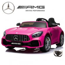 Official Mercedes GT Pink 2 Seat Electric 24v Kids Car
