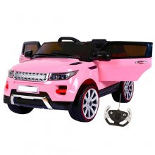 Mid Size Pink HSE Range SUV Style Kids 12v Jeep