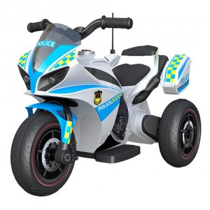 Police Style 6v Powered Mini Trike With Lights & Sounds