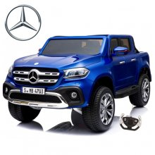 Blue 24v Official 4WD Mercedes X-Class Kids Jeep
