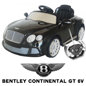 Official Bentley Continental GT 6v Kids Electric Car