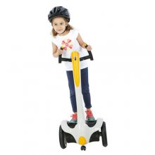 12v Kids 360 Premium White Segway Scooter Ride On
