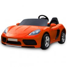24v Oversized Super Large 2 Seat Ride on Orange Sports Car