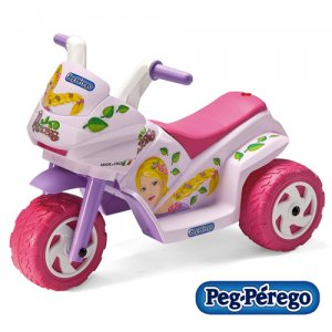 6v Mini Princess Pink Peg Perego Ride On Trike