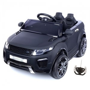 Matte Black 12v Xtra Urban Evoque Jeep with Remote & MP3