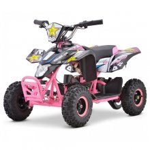Teenage Compact 24v Pink Battery Powered Quad Bike