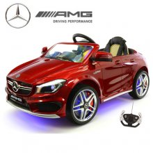 Licensed Mercedes AMG CLA45 Kids Ride On 12v Car
