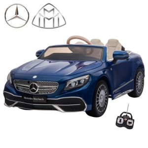 Official S650 Mercedes Maybach Blue 12v EVA Ride On Car