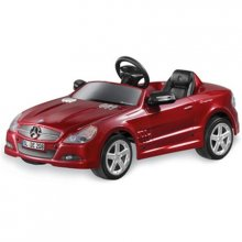Red 6v Mercedes SL Ride-On Battery Car for kids