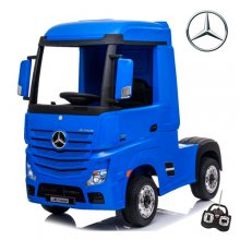 Official Blue Mercedes Actros 24v Ride On Kids Lorry