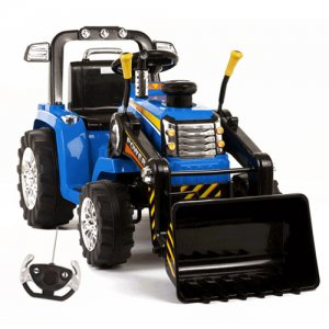 12v Battery Ride On Tractor With Loader Bucket with Remote