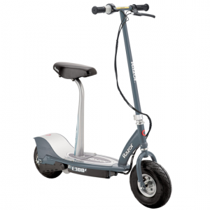 Grey Razor E300s Seated Electric Scooter