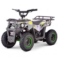 Green 36v Rugged Battery 1000w Kids Ride On Quad Bike