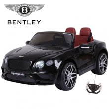 Black Supersports Licensed 12v Bentley Kids Ride On Car
