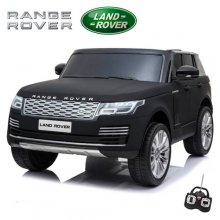 Licensed 24v Matte Black Range Rover Vogue HSE Kids 2 Seat Jeep