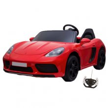 Super-Fast 24v 2 Seat Red Oversize Kids Sports Car