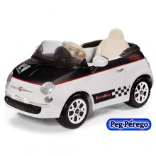 Licensed Fiat 500 12v Kids Ride On Car