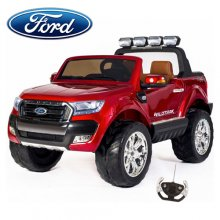 Kids 2019 Two Seat Red Luxury 24v Ford Ranger EVA Jeep