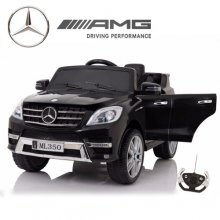 Kids 12V Black Mercedes AMG ML350 SUV with Remote
