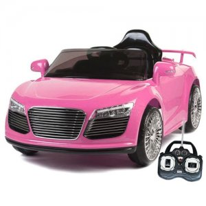 Pink Audi R8 Style Kids 12v Ride On Car