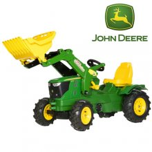 John Deere 6210R Pneumatic Tyres Pedal Tractor with Loader