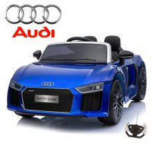 Limited Edition Blue Metallic Kids Audi R8 12v Sports Car