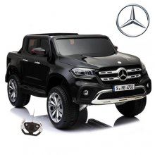 Two Seater 12v Official Black X-Class Kids Pickup Truck