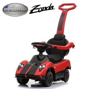 Toddlers Push Along Licensed Zonda Car with Stroller Function