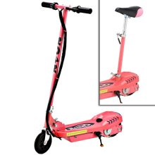 Girls Pink Limited Edition Sit-on 24v Kids Electric E-Scooter