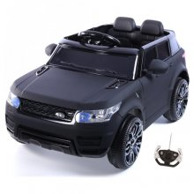 Kids Mini Discovery Style Special Matte Black 12v Jeep