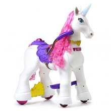 Kids Fairy Tale 12v Magical Ride On Unicorn Toy