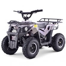 Black 36v Rugged Electric 1000w Kids Ride On Quad Bike