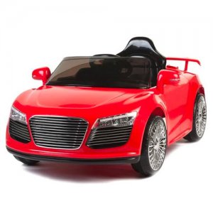 Kids Red Audi Style R8 12V Ride On Car