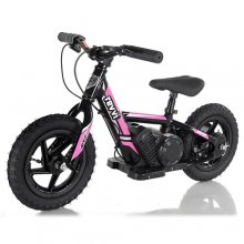 Kids Pink Revvi 24v Lithium Off Road Balance Bike