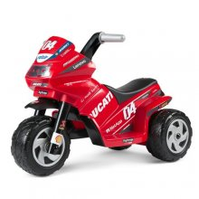 6v Mini Evo Kids Peg Perego Licensed Ducati Battery Trike