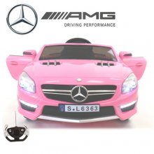 Kids 12v Pink Official Mercedes AMG SL63 Ride On Car