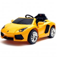 Licensed 12v Yellow Lamborghini Aventador Super Car