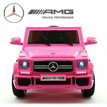 Official 12v Pink Mercedes G65 Electric Jeep with EVA Tyres