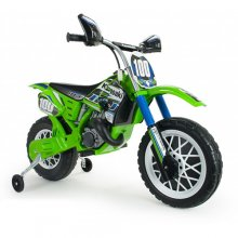 Kawasaki Motocross 6v Licensed Ride On Kids Bike