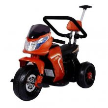 6v Kids Hybrid Electric Motorbike with Push Bar