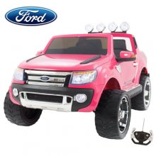Girls Limited Edition Pink 12v Licensed Ford Ranger Ride On Jeep