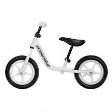 White BMX Balance Bike For Kids
